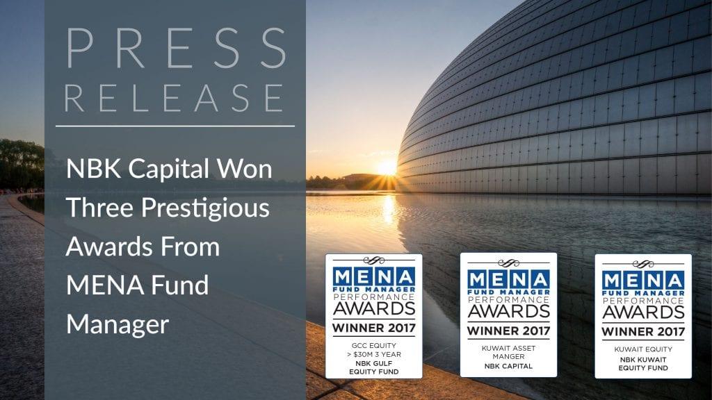 NBK Capital Wins Three Prestigious Awards