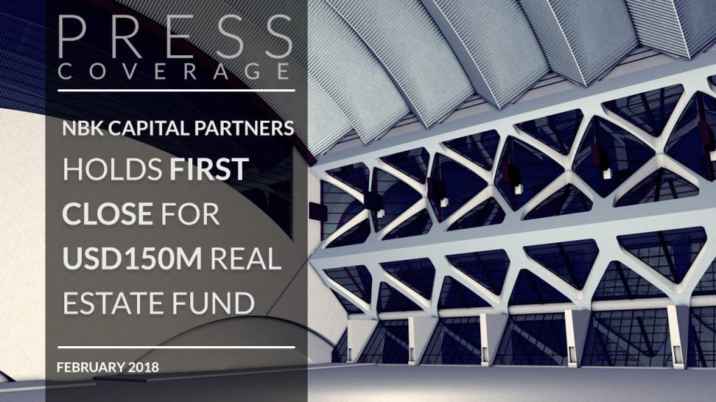 NBK Capital Partners holds first close for $150m real estate fund