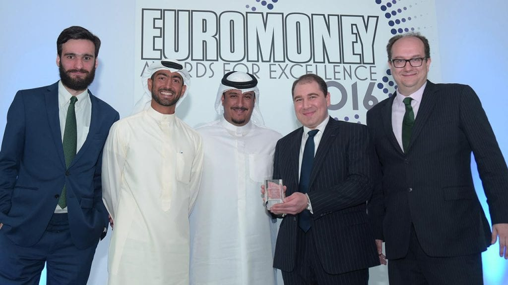 NBK Capital Best Investment Bank in Kuwait Award by Euromoney - June 2016