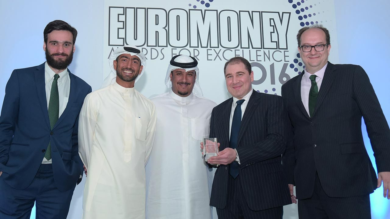 """""""Best Investment Bank in Kuwait Award"""" by Euromoney underscores NBK Capital continuous dedication to excellence"""