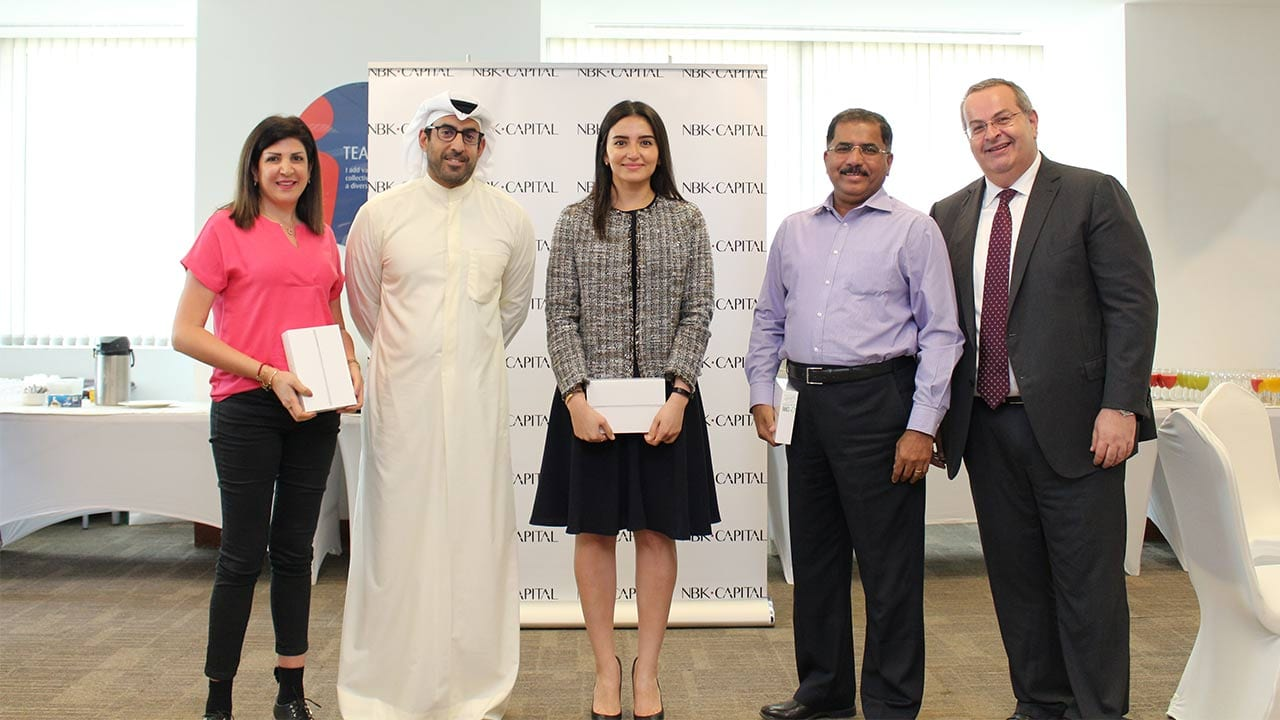"""NBK Capital held a """"Ghraish"""" event for its employees"""
