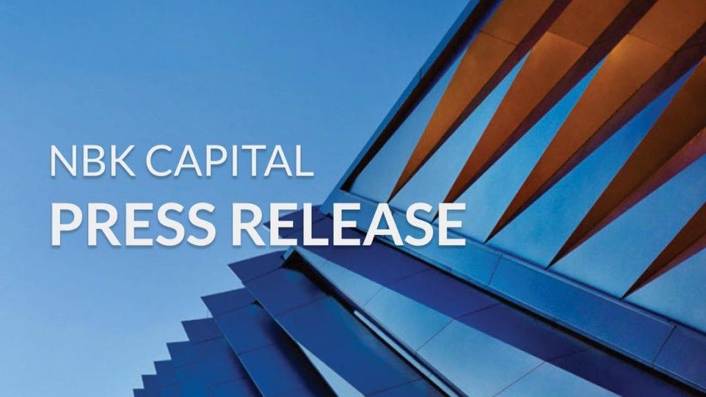NBK Capital Press Release English