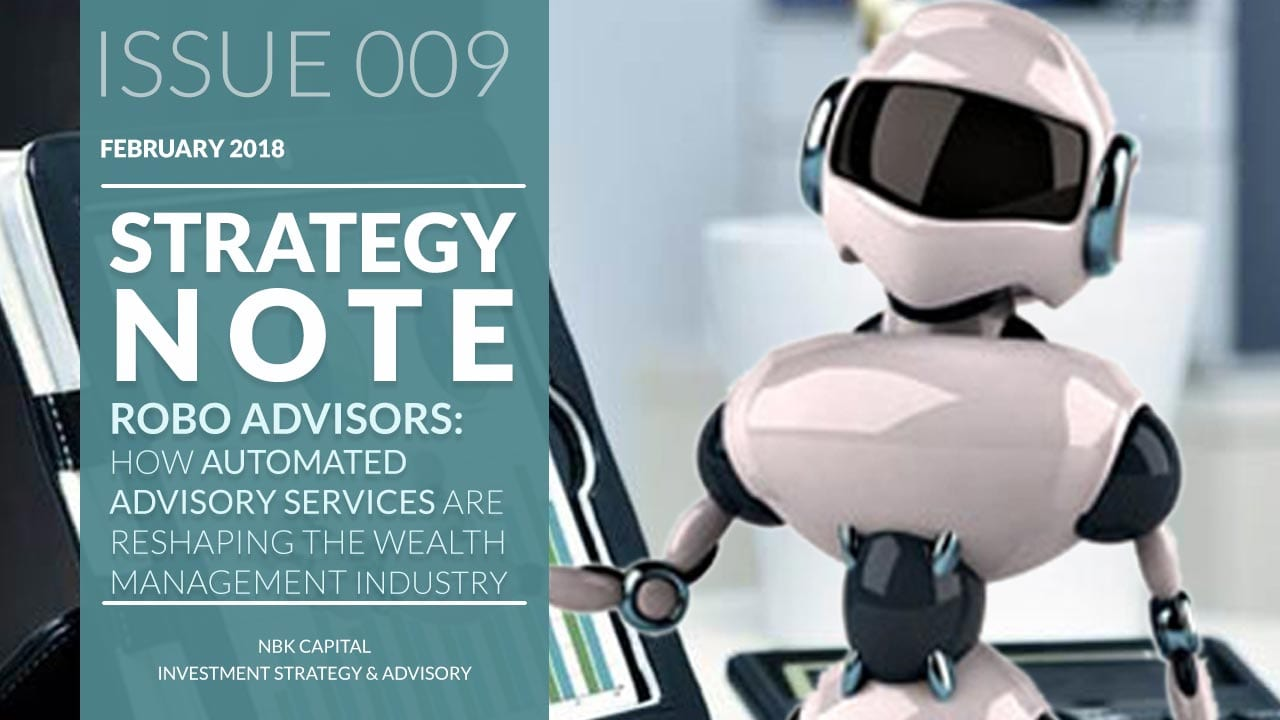 Robo advisors:  How automated advisory services are reshaping the wealth management industry