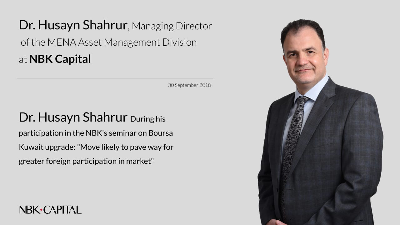 Dr. Husayn examines recent trend for passive investing among investors