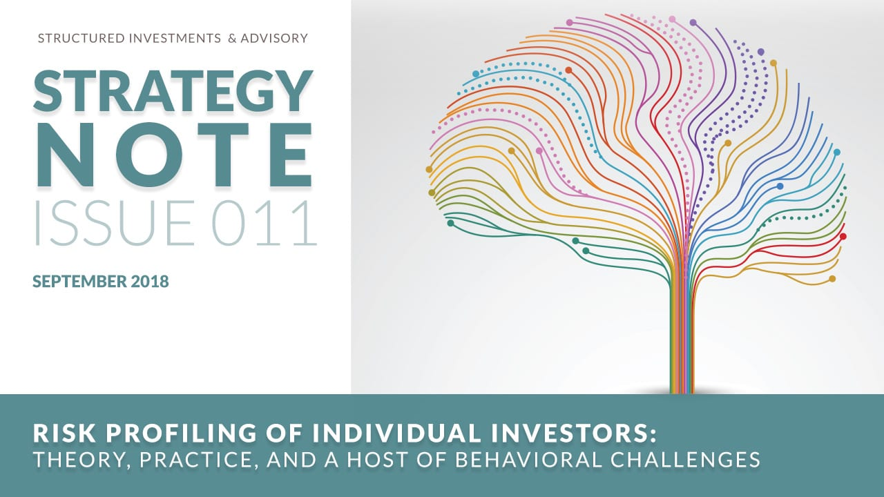 Risk Profiling of Individual Investors
