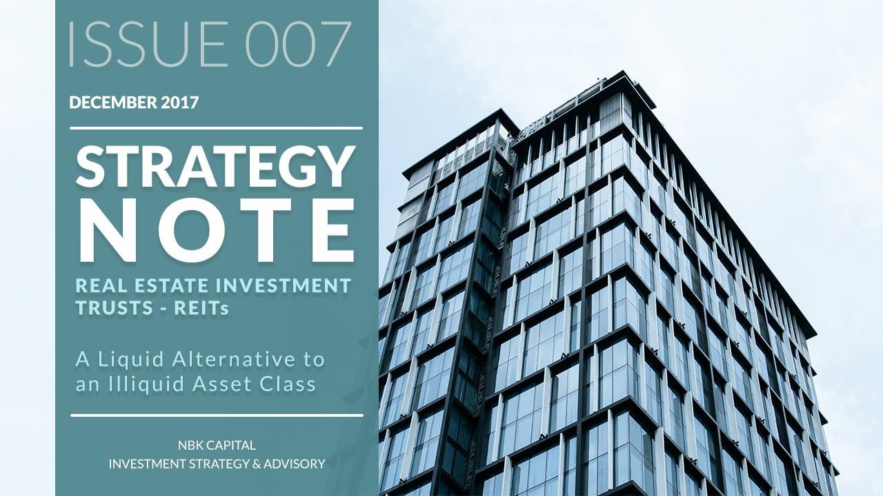 REITs A Liquid Alternative to an Illiquid Asset Class