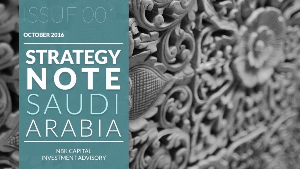NBK Capital - Strategy Note: Saudi Arabia