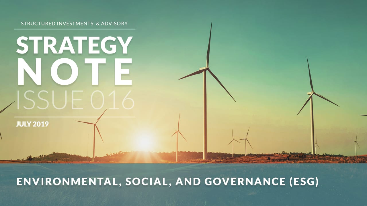 Environmental, Social, and Governance Issues in Investment Management