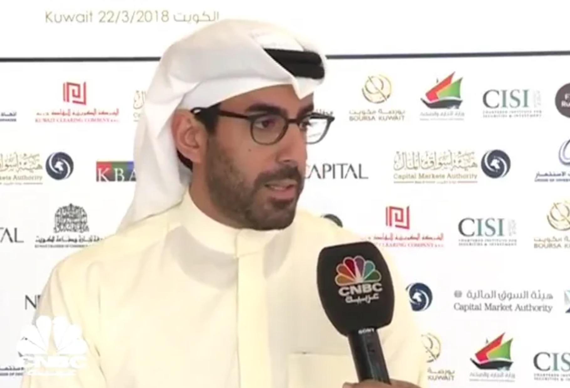مقابلة الرئيس التنفيذي لشركة الوطني للاستثمار  فيصل عبداللطيف الحمد على قناة سي ان بي سي – عربية حول ترقية البورصة للأسواق الناشئة
