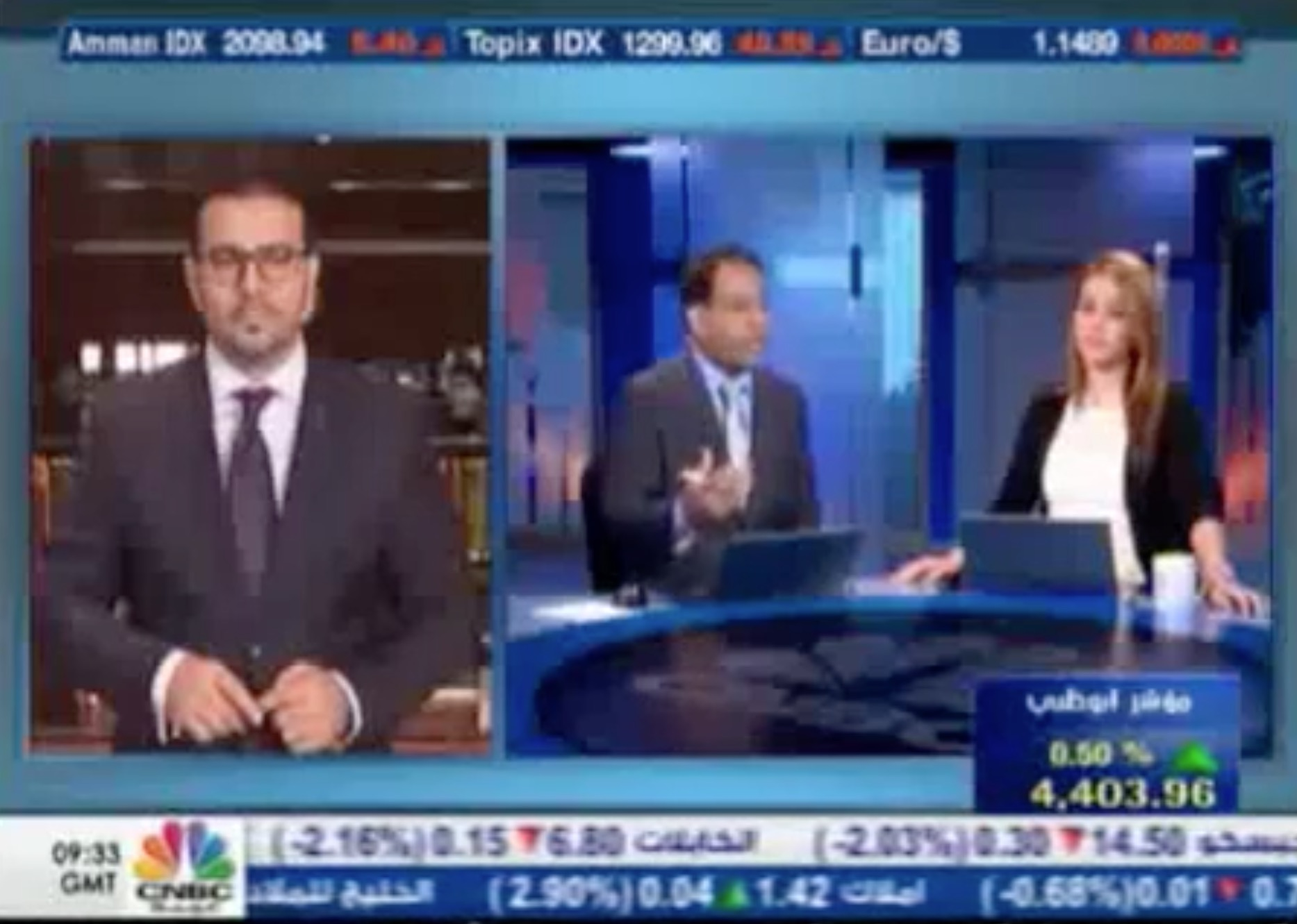 Interview with NBK Capital Brokerage on CNBC – Arabia